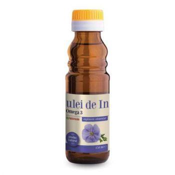 Ulei de in cu Omega 3, 100 ml, Parapharm
